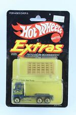 HOT WHEELS EXTRAS FORD STAKE BED TRUCK NEW ON CARD