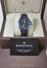 Baume Mercier Clifton Club Diver MOA10498 Steel Mens Watch Box Papers Tags
