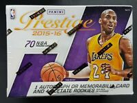 Panini Prestige 2015-16 Basketball Blaster Box NBA Kobe Bryant