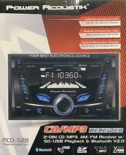 New Power Acoustik Pcd-52B Cd/Mp3/Am/Fm Digital Media Car Receiver, Bluetooth