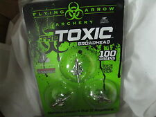 TOXIC  Broadheads (1) 3 pack  AWESOME  T3100
