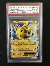 Pokemon XY #XY174 Pikachu EX PSA 10 GEM MINT
