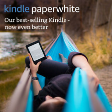 "Kindle Paperwhite E-reader, 6"" High-Resolution Display (300 ppi) with Built-in L"