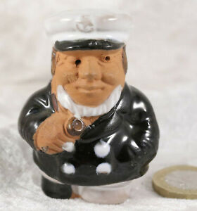 Sailor ship capatin 2.5 inches tall  cake decoration heavy ornament