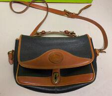 vintage Dooney & Bourke purse shoulder strap leather 8x12