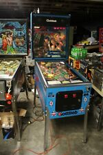 GOTTLIEB DEADLY WEAPON PINBALL MACHINE  PLAYS GREAT NICE CONDITION