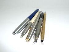 cinq ANTIQUE Marqueurs Stylo-Plume Parker Pelikan CROSS 12 Carats Or stylo