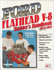 Ford Flathead V8 Engine Builder Handbook 1932-1953 Restoration Street Rod Race