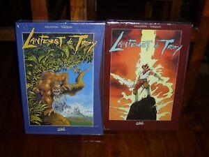 lanfeust de troy  lot de 2 coffrets soit 8 BD série complètes  ´