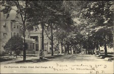 East Orange NJ William St. The Edgemere c1910 Postcard