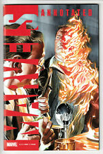 MARVELS - ANNOTATED ISSUE # 1 of #4  -  APRIL 2019 - MARVEL COMICS