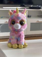 Ty Beanie Boo Plush - Fantasia The Unicorn Stuffed Animal