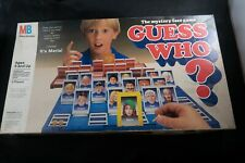 Vintage 1987 Guess Who? Board Game Replacement Parts (Milton Bradley)