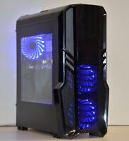 RGB GAMING PC QUAD i5-2500 8GB DDR3 1TB HD GeForce 4GB GTX 1650 Windows 10