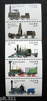 Sc # 2362-2366 ~ BOOKLET PANE ~ 22c STEAM LOCOMOTIVES (ca29)