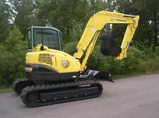 Yanmar Vio 75 Excavator / Mini digger  - Workshop Manual.