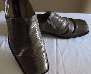 Giorgio Brutini Private Collection Men's Loafers 10 1/2 M Sage/Olive