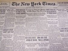 1947 MARCH 2 NEW YORK TIMES - TRUMAN IN PLANE TO MEXICO - NT 3283