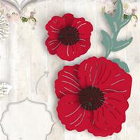 Stanzschablone Blume Blätter Hochzeit Weihnachts Oster Geburtstag Karte Album