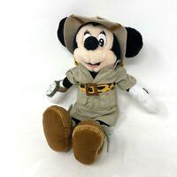 Vintage MINNIE MOUSE Safari Official Disney World Exclusive Plush Soft Toy