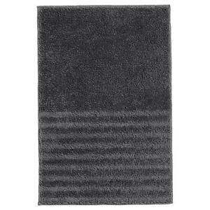 "IKEA VINNFAR Bath mat, dark gray 16x24 "" BRAND NEW, FAST SHIPPING"