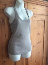 Warehouse silver vest top size 12