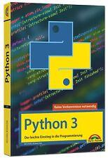 Michael Bonacina Python 3 Programmieren lernen und anwenden