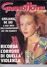 1988 07 01 - GRAND HOTEL - ANNO XLIII - N.26 - 01 07 1988 - GIULIANA DE SIO