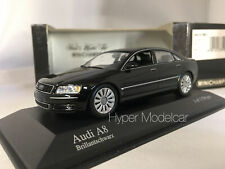 MINICHIAMPS 1/43 AUDI A8 4.0 V8 BLACK 2002 ART. 400011801