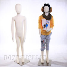 Full body jersey covered flexible children mannequin Dress Form Display #CH09T