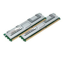 2x 4GB 8GB RAM 2Rx4 FB DIMM Speicher 667 Mhz ECC Fully Buffered DDR2 PC2-5300F