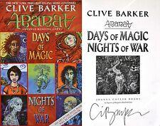 Clive Barker~SIGNED~ABARAT: Days of Magic, Nights of War~1st/1st ARC~Rare+Photo!