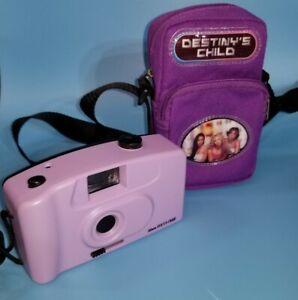 RARE Destiny's Child Beyoncé Purple Shoulder Bag Camera Phone Case Vintage 2002