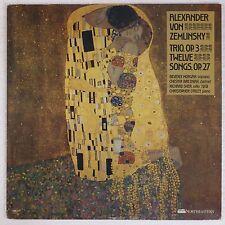 ALEXANDER VON ZEMLINSKY: Trio NORTHEASTERN UNIV. Private Press VINYL LP NM