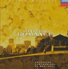 Montreal Romance By Orchestre Symphonique De Montreal w/ Artwork MUSIC AUDIO CD
