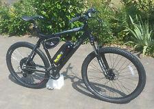 Electric Bike - Wing Black Trakener 1000w 48V 12ah - 1700w 52v 17.5ah 40mph+