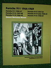 PORSCHE 911 / 911L 911S 911E 911T & 911T LUXE AUTOBOOK WORKSHOP MANUAL 1964-1969