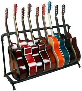 Doubleblack Electric Acoustic Guitar Stand: Universal Foldable Bass Holder - for