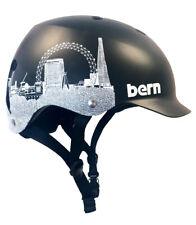 Bern WATTS EPS Bike Cycle Skate Helmet Black London Skyline L-XL | 2XL-3XL
