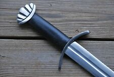 Celtic Viking Medieval Norseman Steel Spatha Sword Broadsword with Scabbard