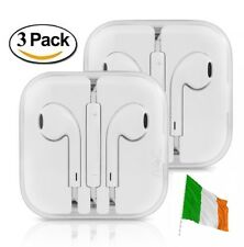 3 PACK Earphones Ear Pods for Apple iPhone 4 5 6 7 Headset Headphones With Mic