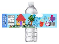 DISNEY PIXAR TROLLS POPPY BIRTHDAY PARTY FAVORS WATER BOTTLE LABELS WRAPPERS