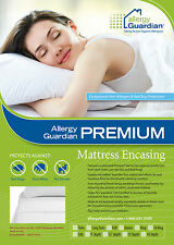 Allergy Guardian COT BED Cover Anti Dust Mite and Bed Bug - Pristine Fabric