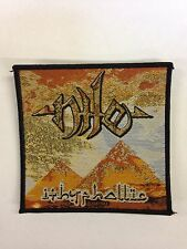 NILE - ITHYPHALLIC WOVEN PATCH - BRAND NEW - MUSIC BAND 2189
