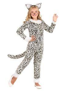 Girl's Snow Leopard Costume