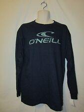 mens O'Neill L/S surfer  t-shirt L nwt supreme blue