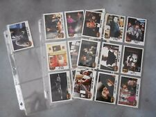 BATMAN Vintage 1989 Tim Burton Movie Topps Trading Cards + sleeve pages 19 cards