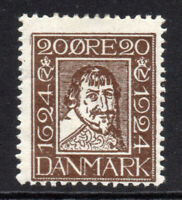 Denmark 20 Ore Stamp c1924 Mounted Mint Hinged (5368)