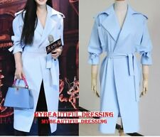 Unbranded Solid Regular Size Trench for Women