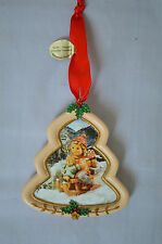 "Danbury Mint The M.J. Hummel ""Christmas Delivery"" Porcelain Ornament #M"
